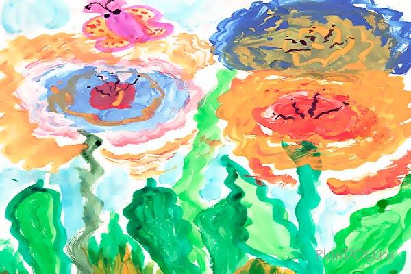 Тематическая неделя «Краски осени. Цветы»