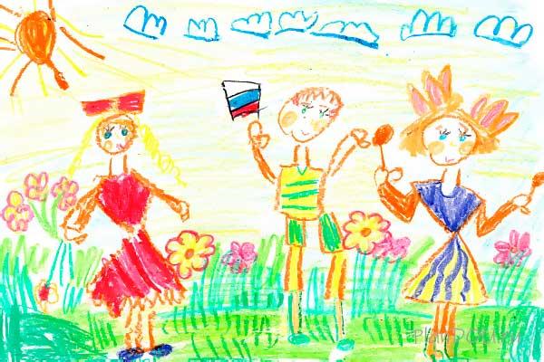 Тематическая неделя «Мы живём в России»