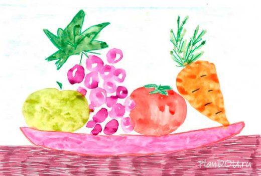 Тематическая неделя «Осень. Овощи и фрукты»