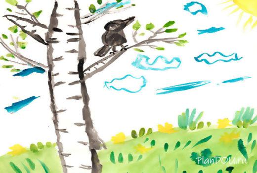 Тематическая неделя «Весна, перелётные птицы»