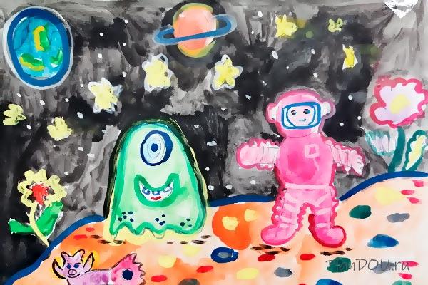 Тематическая неделя «Загадочный космос»
