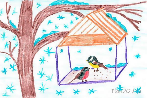 Тематическая неделя «Жизнь птиц зимой»