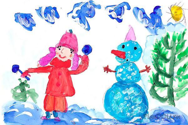 Тематическая неделя «Зима. Зимние забавы»