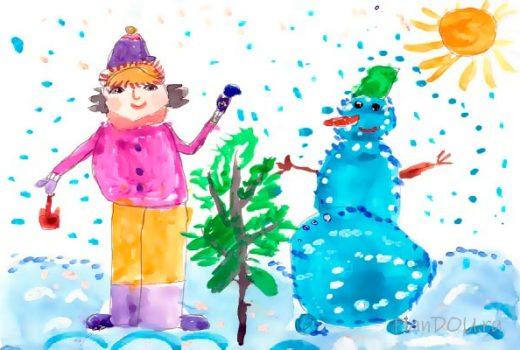 Тематическая неделя «Зимние деньки»