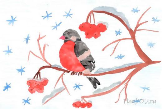 Тематическая неделя «Зимующие птицы»